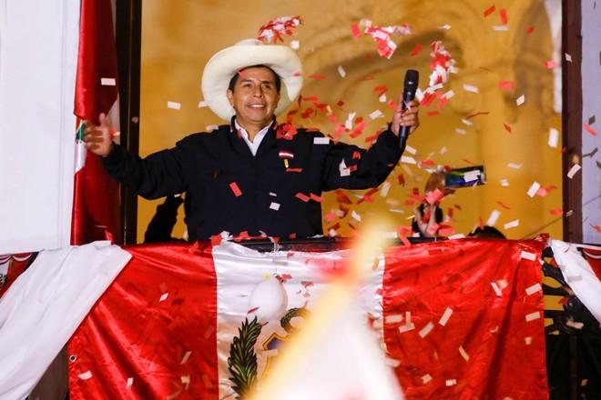 """Thách thức với """"Tổng thống đắc cử"""" Peru Pedro Castillo ảnh 1"""