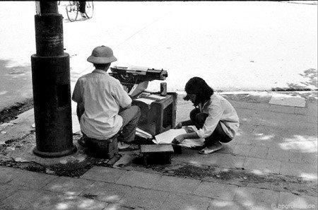 Nghề đánh máy chữ ở Hà Nội xưa ảnh 3
