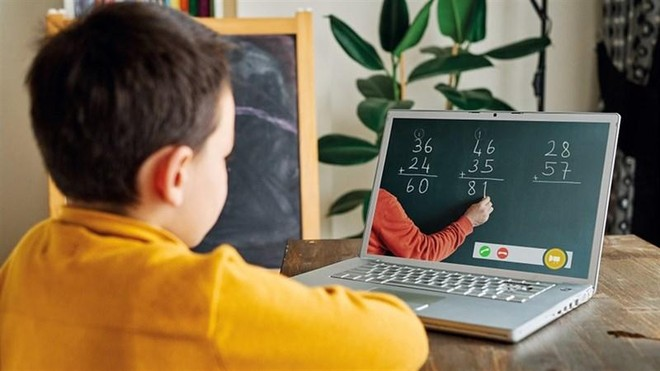Để trẻ an toàn khi học trực tuyến ở nhà ảnh 1