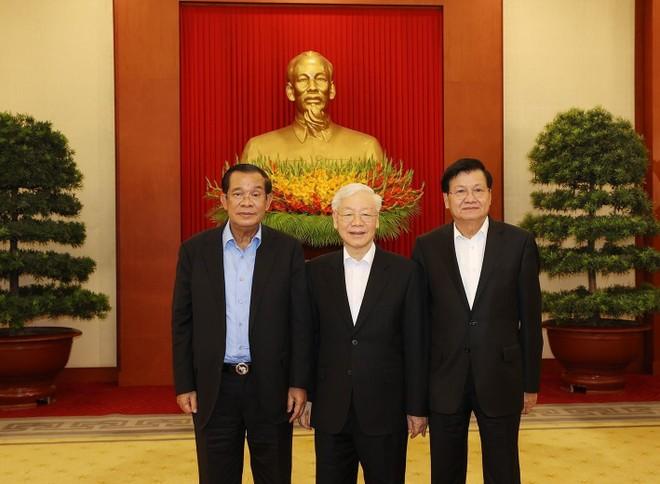 Thúc đẩy quan hệ truyền thống, đoàn kết, gắn bó Việt Nam - Campuchia - Lào ảnh 1