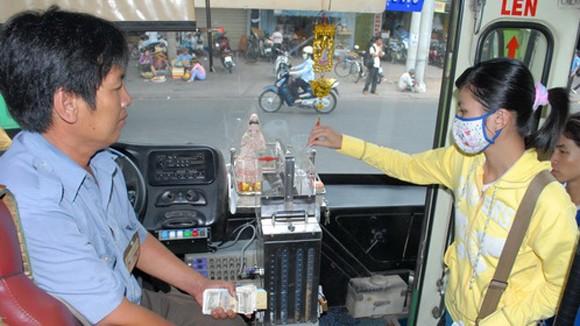 Hà Nội sẽ có vé xe buýt tự động? ảnh 1