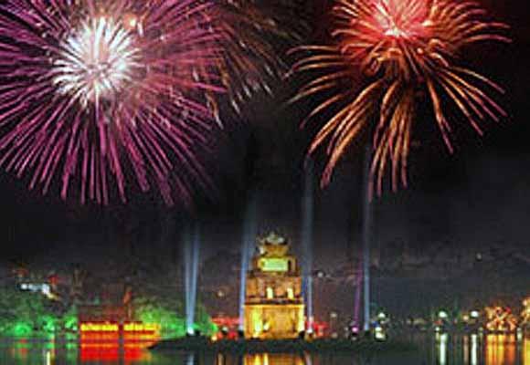 29 điểm bắn pháo hoa vào đêm giao thừa ở Hà Nội ảnh 1