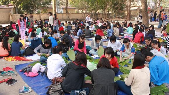 """Học sinh Hà Nội chung tay cho """"Tết ấm áp"""" ảnh 3"""