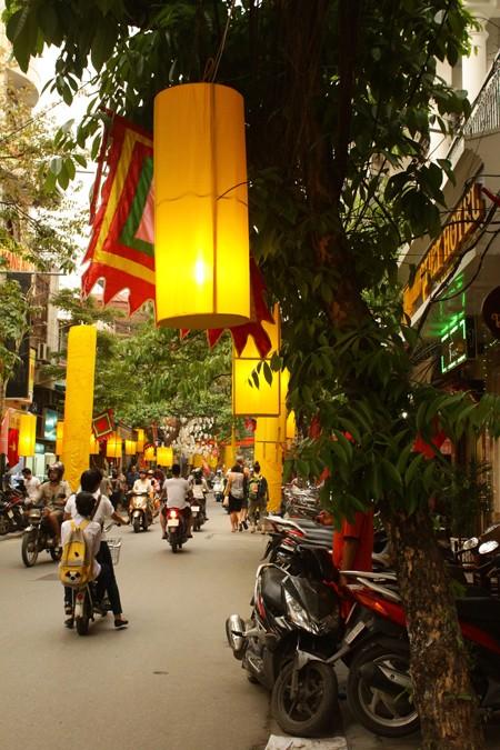 Phố Hàng Bạc rực rỡ Hội nghề Kim Hoàn 2013 ảnh 2