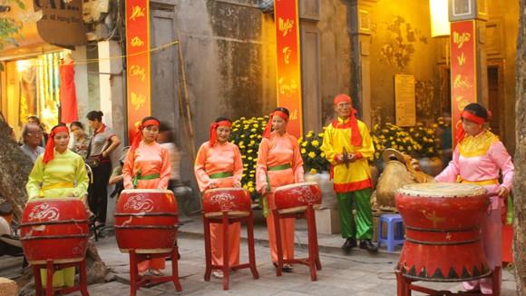 Phố Hàng Bạc rực rỡ Hội nghề Kim Hoàn 2013 ảnh 7
