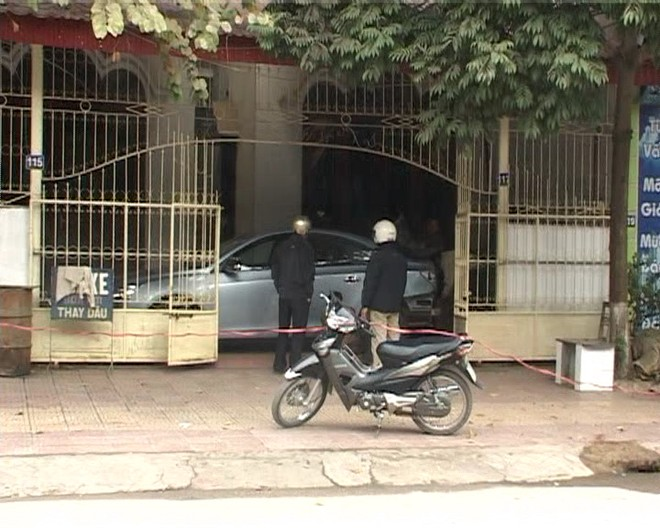 Nổ nát xe ô tô nhà Phó Giám đốc Sở Ngoại vụ tỉnh Điện Biên
