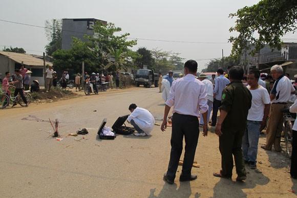 Tai nạn liên hoàn trên Quốc lộ 279 khiến 1 người chết