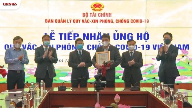Honda Việt Nam ủng hộ 12 tỷ đồng vào Quỹ vaccine phòng Covid-19 ảnh 2