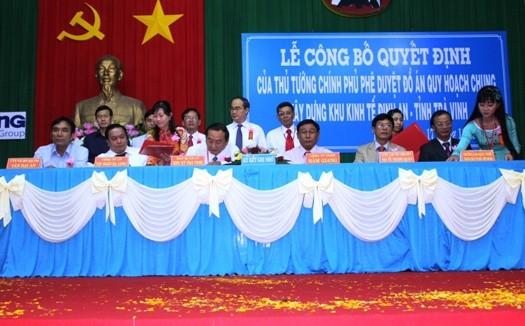 Trà Vinh: Công bố quy hoạch Khu kinh tế Định An ảnh 1