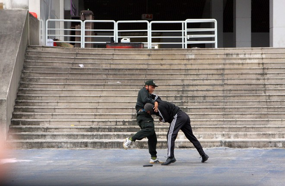 Công an TP Hà Nội diễn tập chống bạo loạn, khủng bố và giải cứu con tin ảnh 8