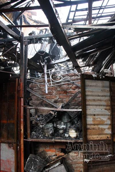 Cháy khu nhà trọ cạnh nhà khách La Thành ảnh 5