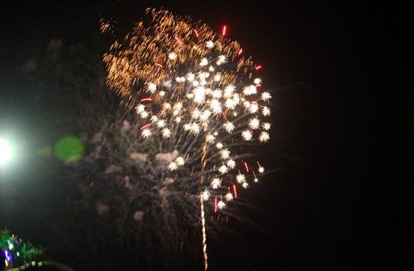 Rộn ràng niềm vui trong ánh sáng rực rỡ của pháo hoa đêm giao thừa ảnh 9