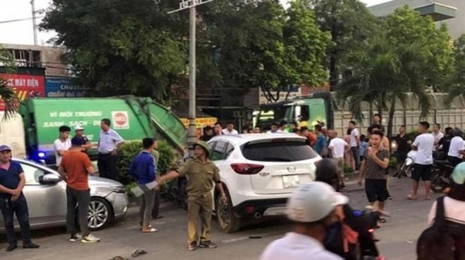 Vụ tai nạn liên hoàn khiến 1 người tử vong và nhiều người bị thương ở thị xã Sơn Tây: Lái xe chưa có bằng lái ảnh 2