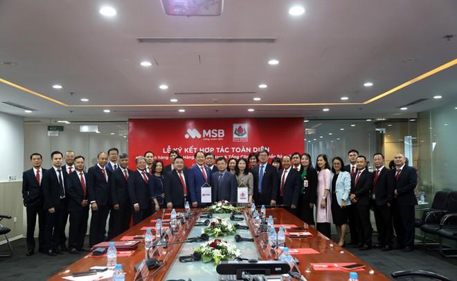 Tổng Công ty Cổ phần Bảo Minh ký kết hợp tác toàn diện với Ngân hàng TMCP Hàng Hải Việt Nam ảnh 2