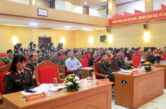 Bộ Công an mít tinh hưởng ứng Ngày Pháp luật Việt Nam 2020 ảnh 2