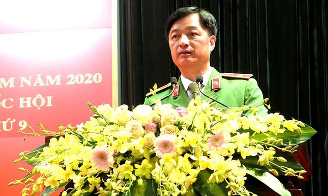 Bộ Công an mít tinh hưởng ứng Ngày Pháp luật Việt Nam 2020 ảnh 1