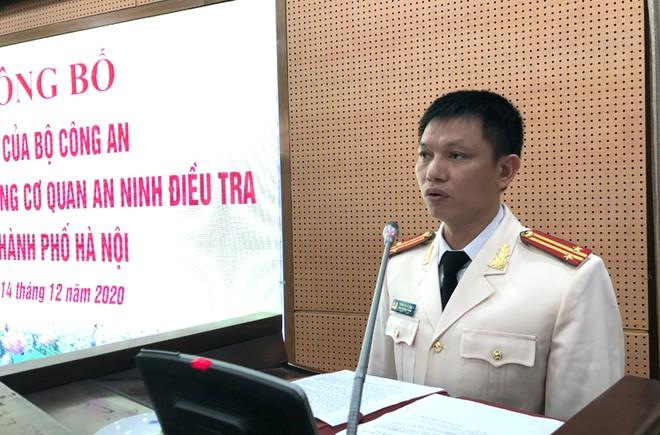 Bổ nhiệm 2 Phó Thủ trưởng Cơ quan An ninh điều tra CATP Hà Nội ảnh 3