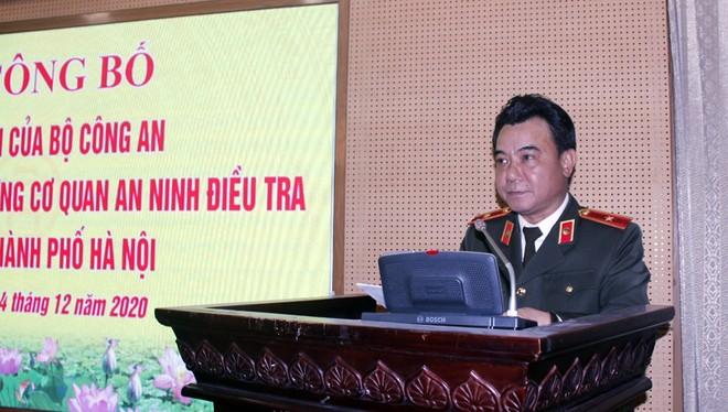 Bổ nhiệm 2 Phó Thủ trưởng Cơ quan An ninh điều tra CATP Hà Nội ảnh 2
