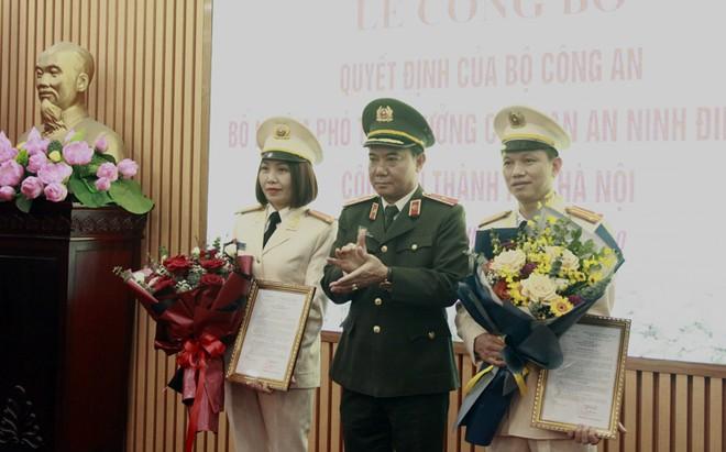 Bổ nhiệm 2 Phó Thủ trưởng Cơ quan An ninh điều tra CATP Hà Nội ảnh 1