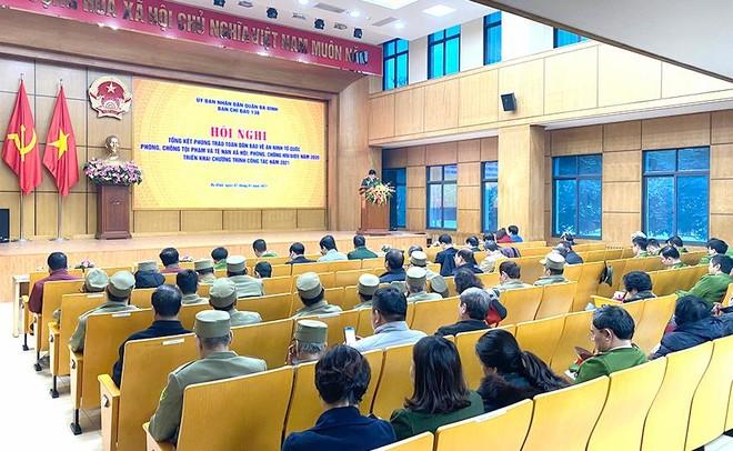 Quận Ba Đình: Phát huy hiệu quả phong trào toàn dân bảo vệ an ninh Tổ quốc ảnh 1