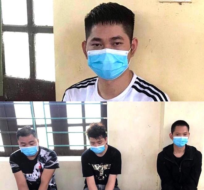 Vĩnh Phúc: Phát hiện bắt giữ 4 người Trung Quốc lang thang trên đường ảnh 1