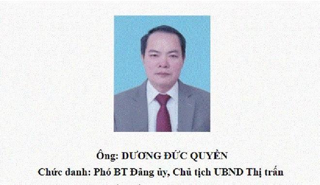 Vĩnh Phúc: Tạm đình chỉ công tác Chủ tịch UBND thị trấn vì lơ là phòng, chống dịch Covid-19 ảnh 1