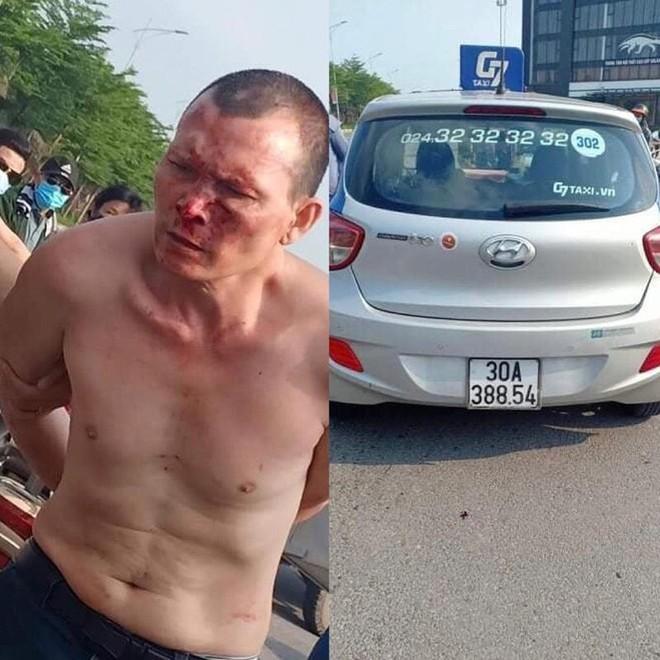 Bắt nóng đối tượng cướp taxi có lệnh truy nã đặc biệt về tội giết người ảnh 1