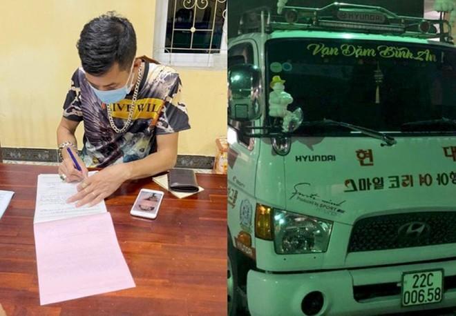 Xử lý tài xế xe tải không nhường đường cho xe cứu thương thông qua hình ảnh trên mạng xã hội ảnh 1