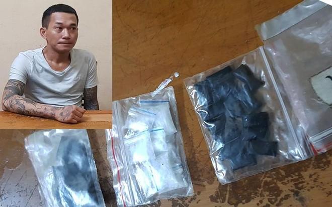 Cảnh sát cơ động bắt giữ đối tượng có 4 tiền án, thu giữ lượng lớn ma túy ảnh 1