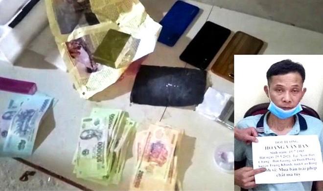 Bộ đội Biên phòng Cao Bằng bắt giữ đối tượng mua bán trái phép ma tuý ảnh 1