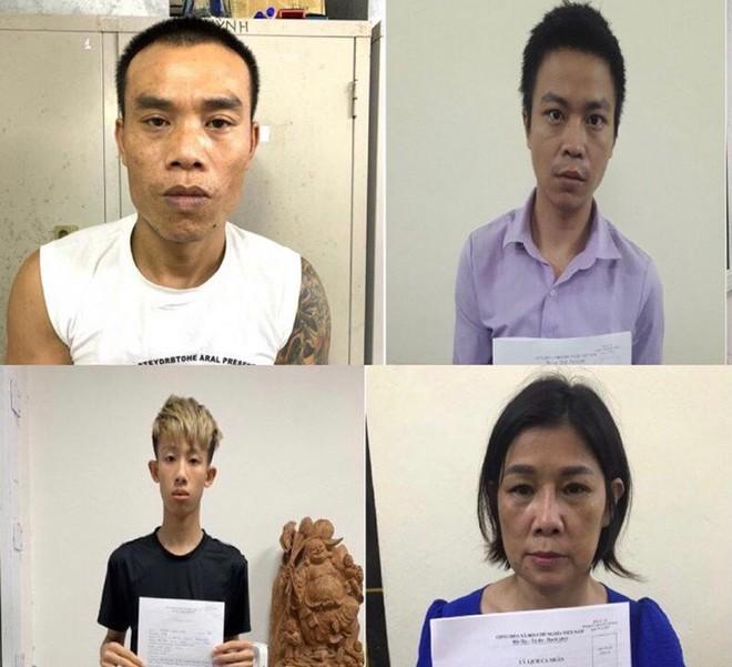 Bắt giam 4 đối tượng tổ chức cho khách mua bán dâm trong căn nhà 2 tầng ảnh 1