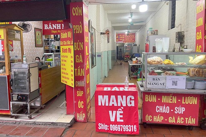 Cửa hàng kinh doanh ăn uống tại Hà Nội: Đa phần tuân thủ phòng dịch, có nơi cố tình vi phạm ảnh 6