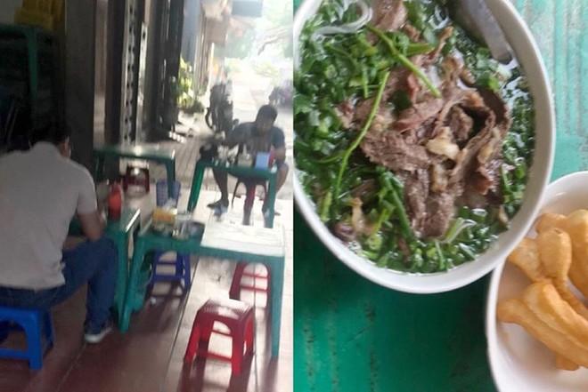 Hà Nội: Nhiều hàng quán bán đồ ăn, phục vụ uống cafe tại chỗ cho các 'thượng đế' ảnh 8