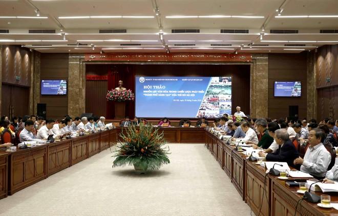 """Hội thảo """"Nguồn lực văn hoá trong chiến lược phát triển """"Thành phố sáng tạo"""" của Thủ đô Hà Nội ảnh 2"""