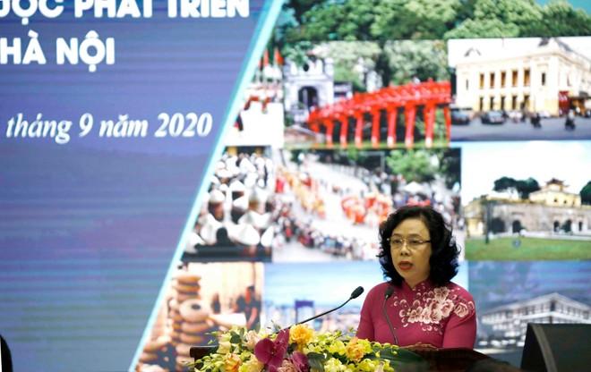 """Hội thảo """"Nguồn lực văn hoá trong chiến lược phát triển """"Thành phố sáng tạo"""" của Thủ đô Hà Nội ảnh 1"""