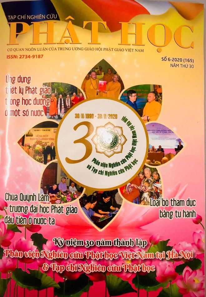 Lễ kỷ niệm 30 năm thành lập Phân viện Nghiên cứu Phật học Việt Nam tại Hà Nội và Tạp chí Nghiên cứu Phật học ảnh 2