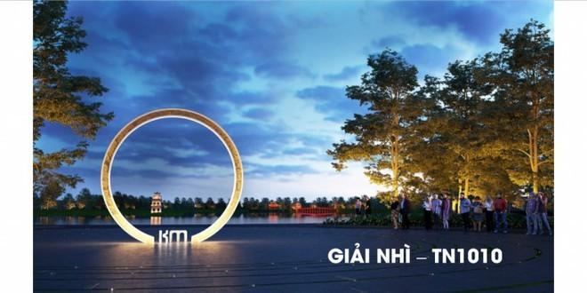 Triển lãm phương án đoạt giải cuộc thi Thiết kế Cột mốc Km0 ảnh 3