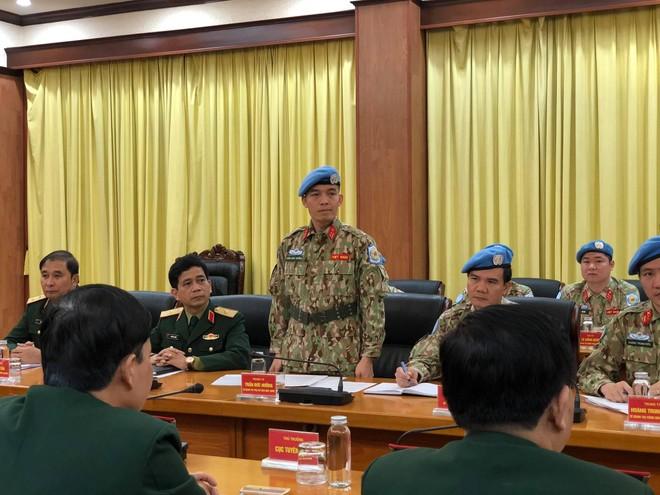Sĩ quan Việt Nam được cử đi làm nhiệm vụ tại trụ sở Liên Hợp Quốc ảnh 2