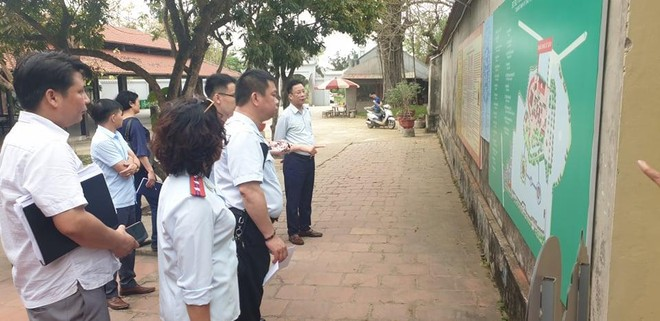 Kiểm tra thực trạng xây dựng nhiều công trình mới tại Di tích Quốc gia chùa Đậu ảnh 4