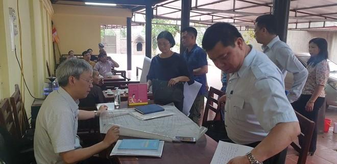 Kiểm tra thực trạng xây dựng nhiều công trình mới tại Di tích Quốc gia chùa Đậu ảnh 2