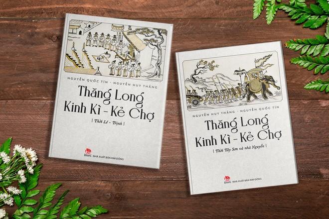 """Ra mắt sách """"Thăng Long Kinh Kỳ- Kẻ Chợ"""": Tái hiện hai thời đoạn ấn tượng của Hà Nội ảnh 1"""