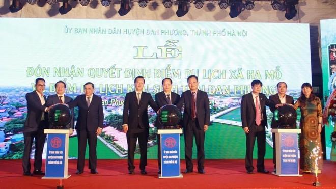Đan Phượng có thể trở thành trung tâm nghỉ dưỡng của Hà Nội? ảnh 1