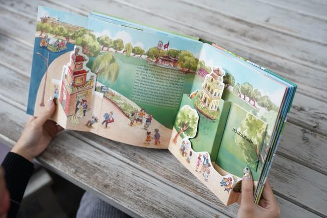 """""""Hà Nội ngàn năm ký ức"""" cuốn sách 3D đầu tiên về Hà Nội ảnh 3"""