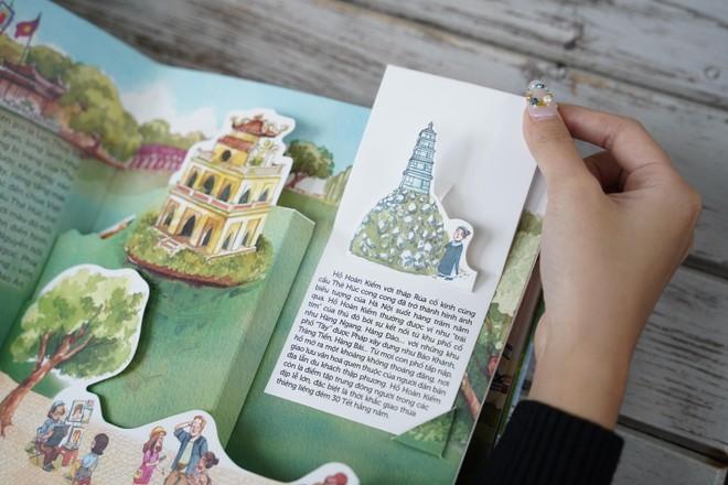 """""""Hà Nội ngàn năm ký ức"""" cuốn sách 3D đầu tiên về Hà Nội ảnh 1"""