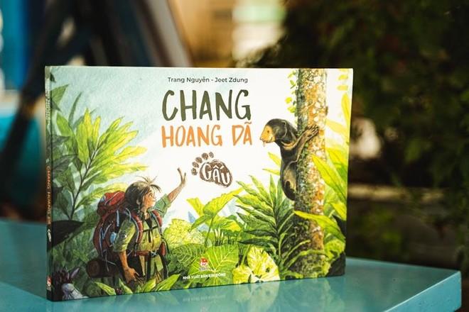 """""""Chang hoang dã - Gấu""""- cuốn sách có giao dịch bản quyền cao kỷ lục với NXB Pan Macmillan (Anh) ảnh 1"""
