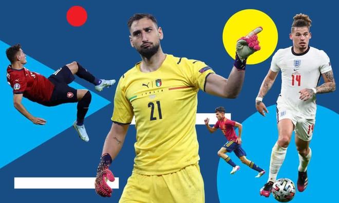 Tranh cãi xung quanh Đội hình xuất sắc nhất EURO 2020 ảnh 2