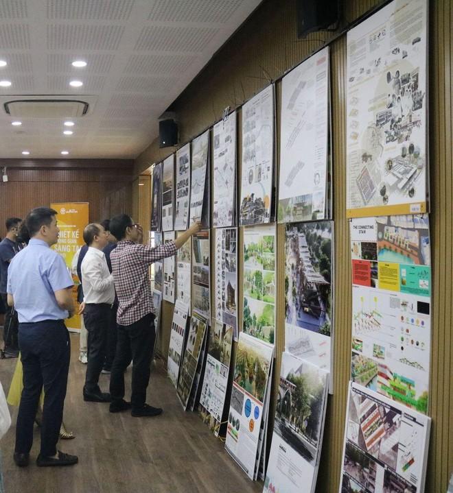 Công bố các hạng mục giải thưởng Cuộc thi thiết kế Không gian sáng tạo Hà Nội ảnh 1
