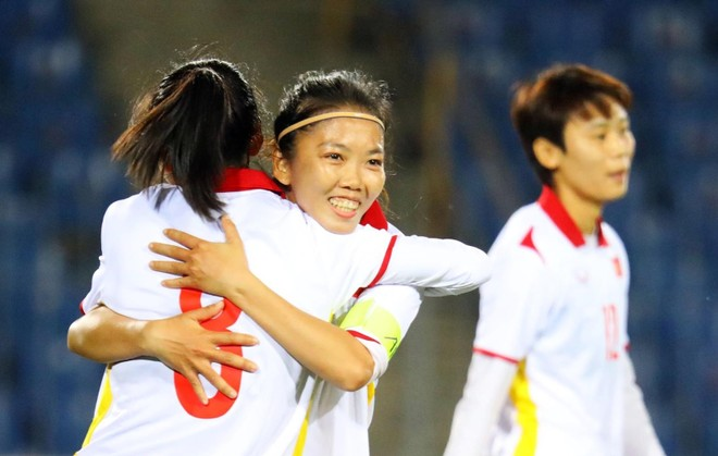 Tuyển nữ Việt Nam thắng 16-0 ở giải châu Á ảnh 2
