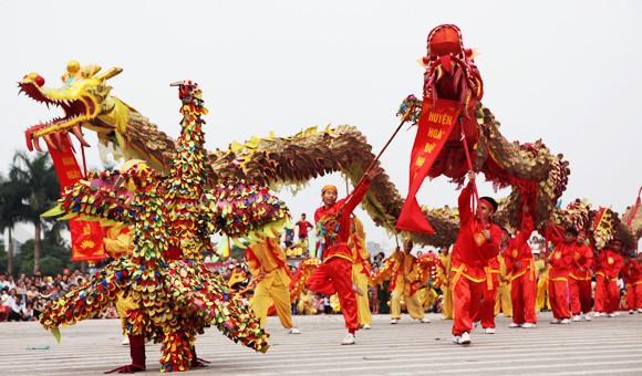 Mãn nhãn với Lễ hội múa rồng Hà Nội 2012 ảnh 11