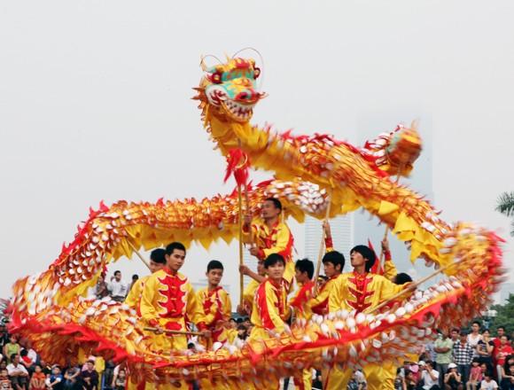 Mãn nhãn với Lễ hội múa rồng Hà Nội 2012 ảnh 14